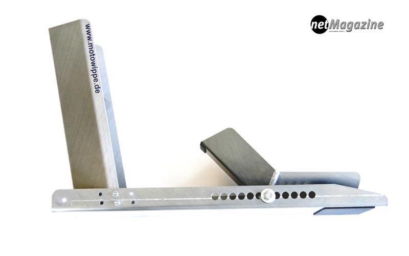Grundgestell mit Wippe & Gegenanschlag – Gewicht 3.520g